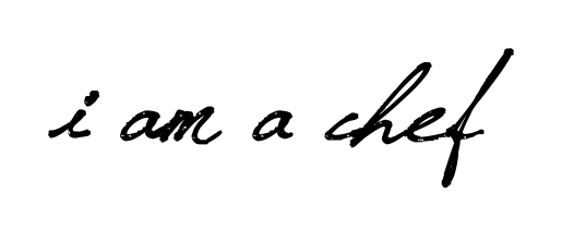 I am a chef – Fisun Ercan logo